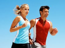 couple running croped