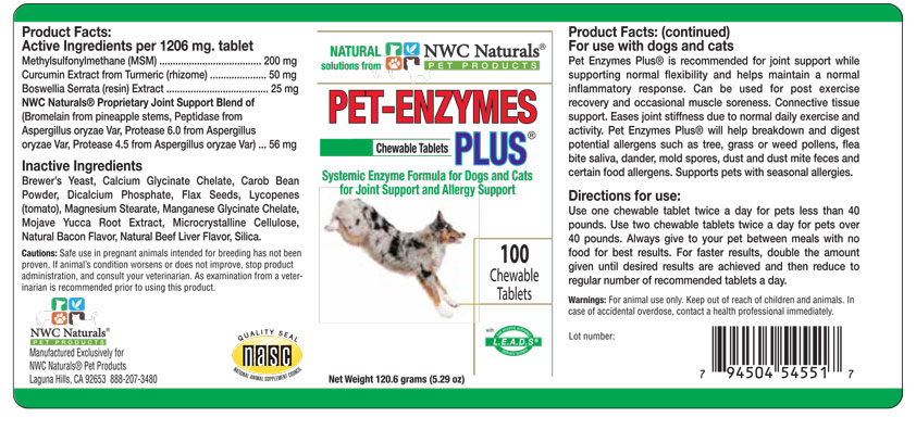 Natural Pet Support Joint Support Allergies Support