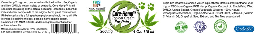 Pet CBD Topical