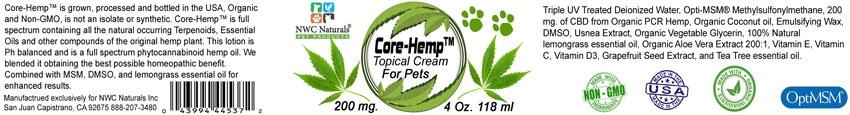 Core-Hemp | Healthy Joints | CBD | Muscles | CBD for Pets