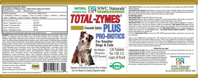 Total-Zymes Plus 120 count