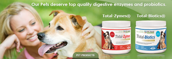 Total-Zymes ® Digestive Pet Enzymes