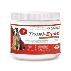 """Small Size"" Total-Zymes® 63 Gram Enzyme Supplement for Dogs and Cats"