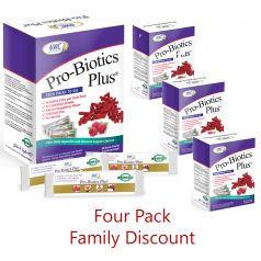 Pro-Biotics Plus® Stick Packs Four Pack Discount