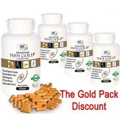 MSM Gold four pack discount