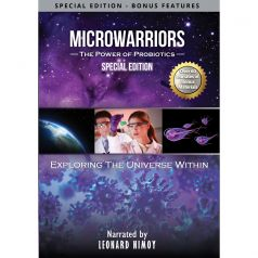 """MicroWarriors"" Special Edition DVD available now. Narrated by Leonard Nimoy!"